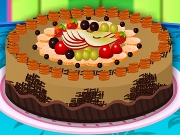 Cake With Fruits Decoration
