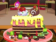 Chocolate Cake Decoration 2