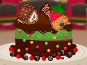 Chocolate Cake Decoration 3