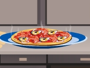 Cooking Fish Pizza