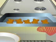 Cooking Gingerbread Men Cookies