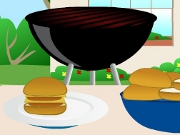 Cooking Hamburger