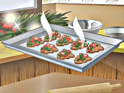 Cooking Xmas Tree Cookies