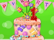 Baby First Birthday Cake D...
