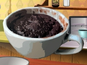 Cooking Chocolate Mug Cake