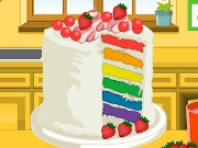 Emmas Recipes Rainbow Clown Cake