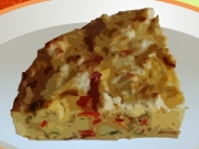 Italian Frying Pepper Frittata