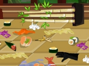 Sushi Station Clean Up