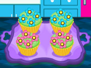 Bake Colorful Cupcakes