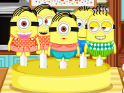 Cooking Frenzy Minion Lollipops