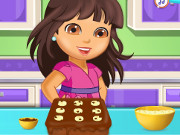 Dora Chocolate Banana Cake
