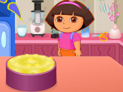 Doras Cooking Mango Cheesecake