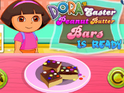 Doras Easter Peanut Butter Bars