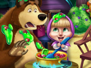 Masha and Bear Kitchen Mis...