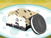 Oreo Cheesecake Slice