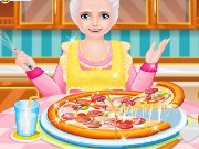 Pizza Cooking with Grandma