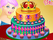 Princess Crown Cake Decor