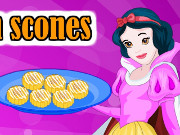 Snow White Cooking Pumpkin Scone