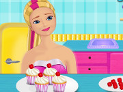 Super Barbie Eggnog Cupcakes